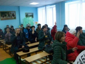 Итоговое собрание жителей д.Бабиково